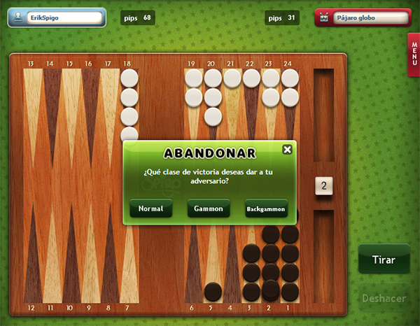 Como jugar en el casino gratis Backgamon-705805