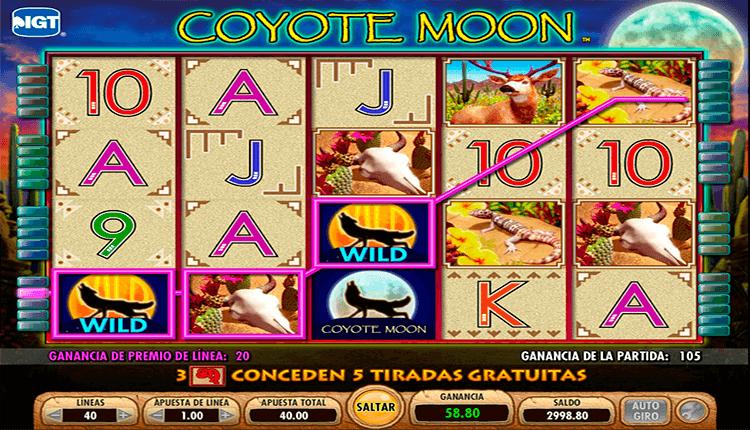 Jugar 888 casino tragamonedas gratis Coyote Moon-402116
