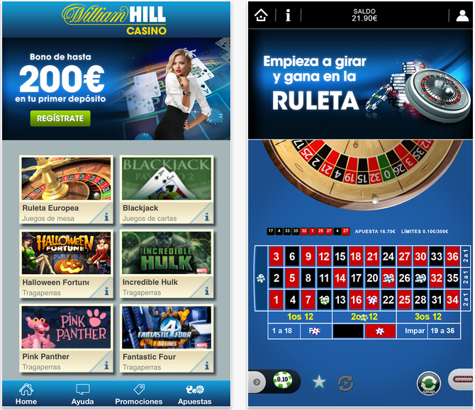 Deposita sin riesgo casino william hill app-287311