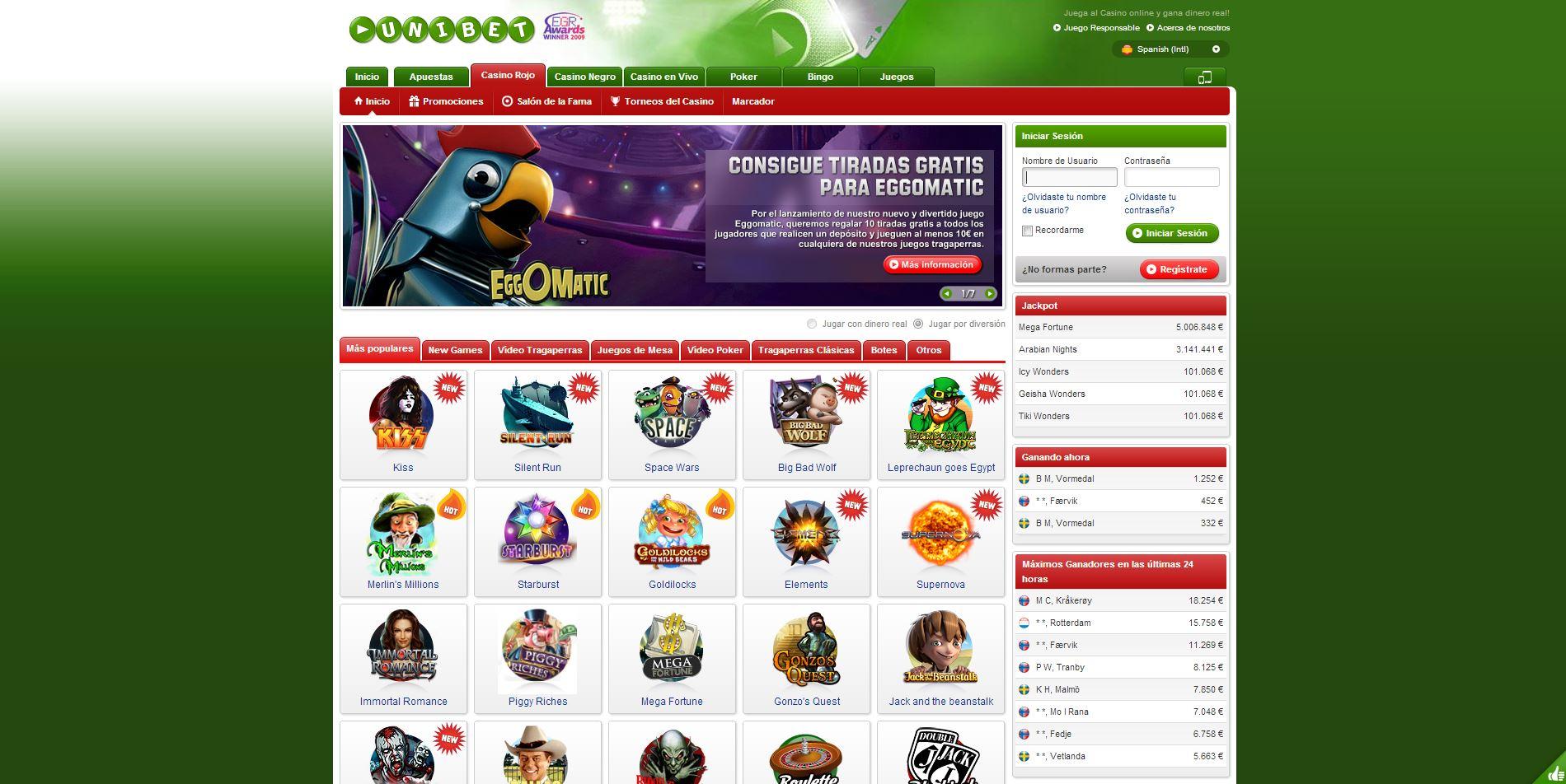 Unibet españa los mejores casino on line de Nicaragua-521243