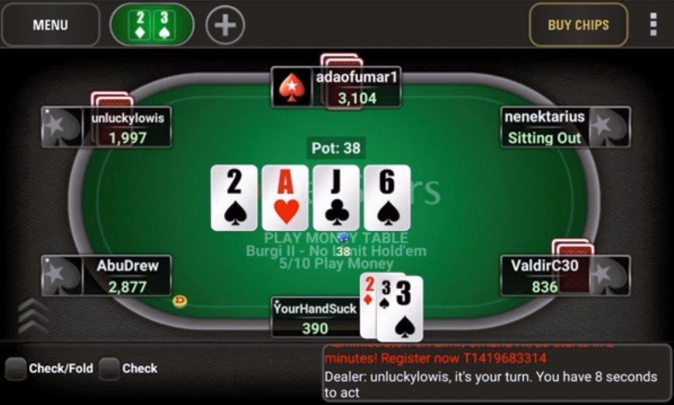 Gratis al póker online party poker android-149926