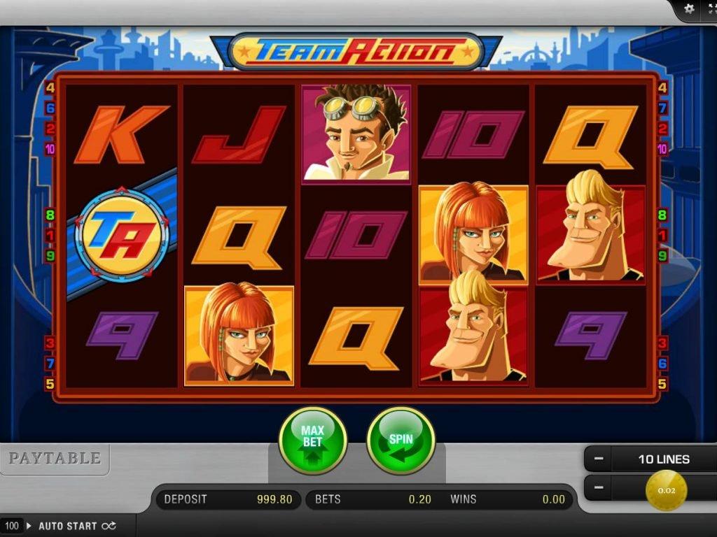 Juegos de casino sin internet tragamonedas gratis Team Action-917628
