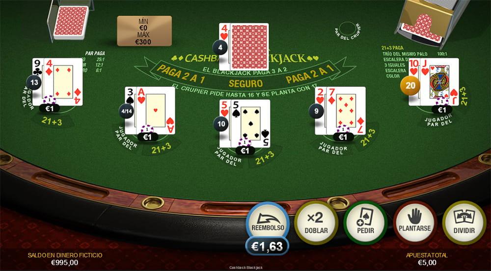 Juegue con € 100 gratis como se juega 21 en cartas españolas-624881