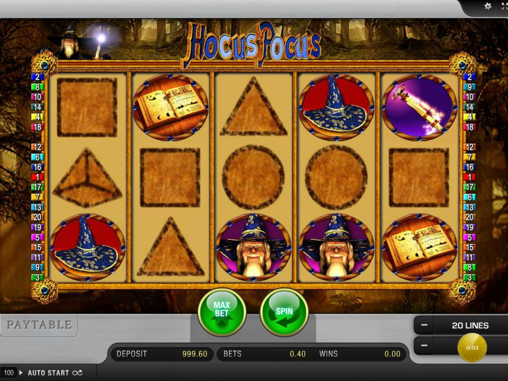 Jugar gratis tragamonedas hocus pocus casino-161686