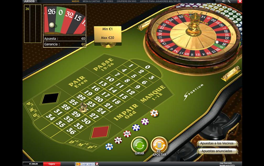 Jugar ruleta francesa gratis apostar con smartphone premio-338149