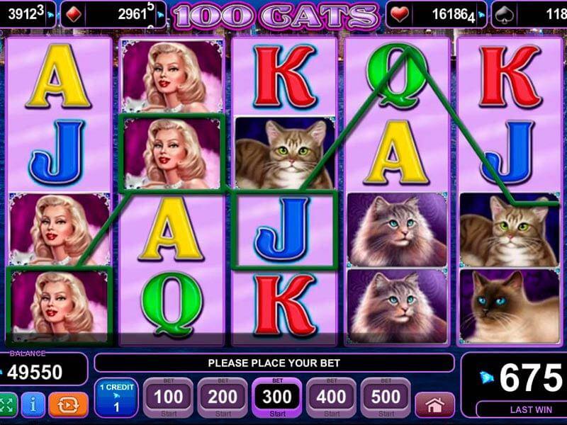 Jugar tragamonedas gratis 100 cats reseña de casino Porto-567838