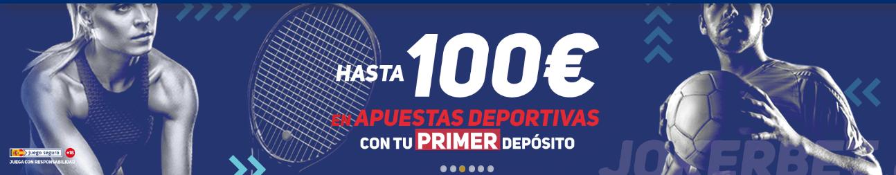 Luckia apuesta online tragaperras bono 100€-569450