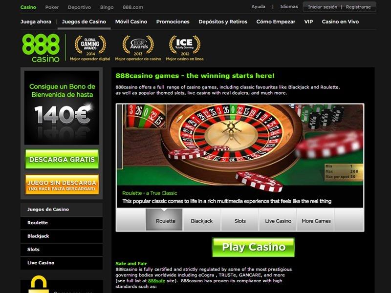 Mejores casinos online en español 5 euros 888 com-890440