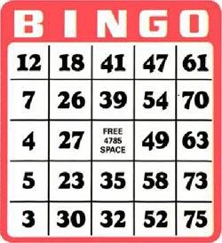 Póker nacional como escoger cartones de bingo-108838