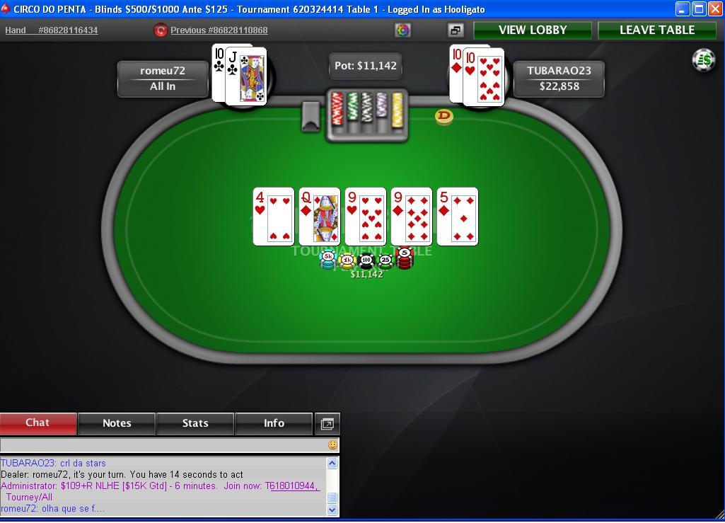 Programa bwin poker torneo de Carnaval 1000€ en premios-205864