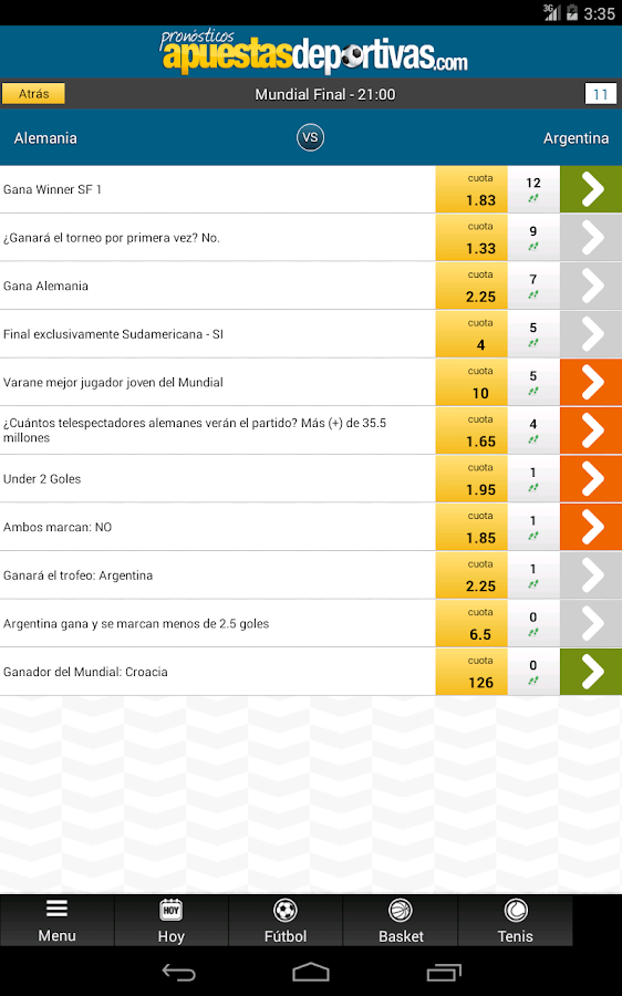 Pronosticos tenis apuestas betsson Games-731212