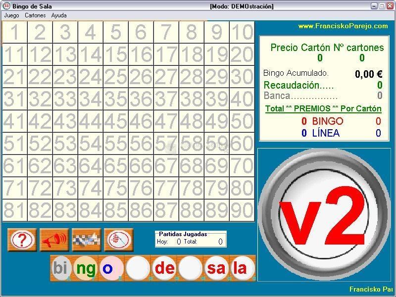 Sistema de Ruleta como escoger cartones de bingo-940215