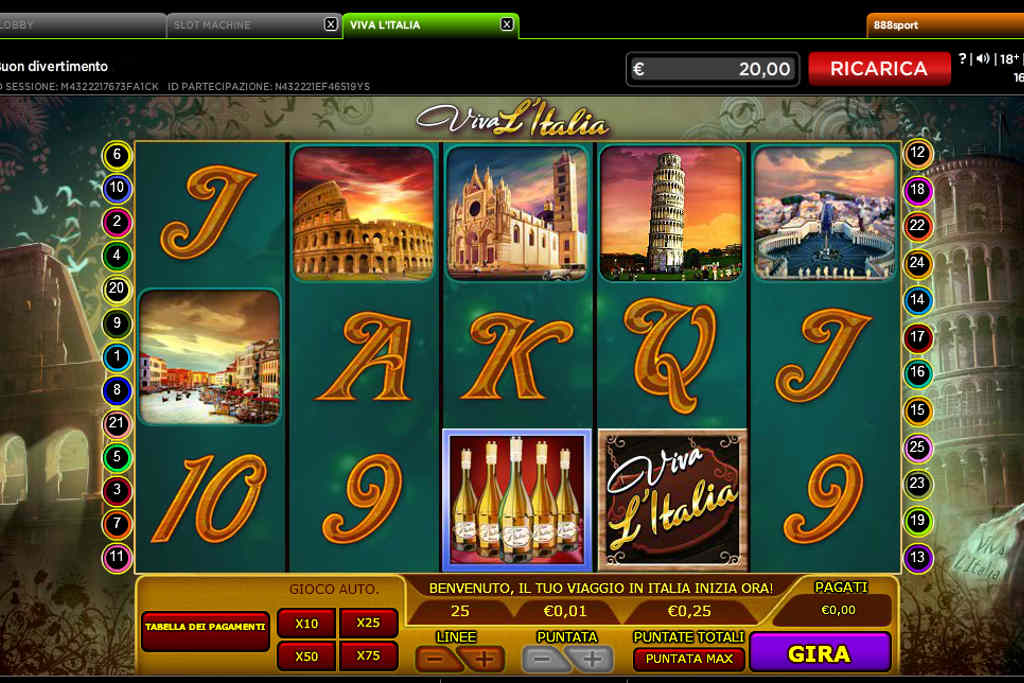 Slots online opiniones tragaperra Viva LItalia-598344