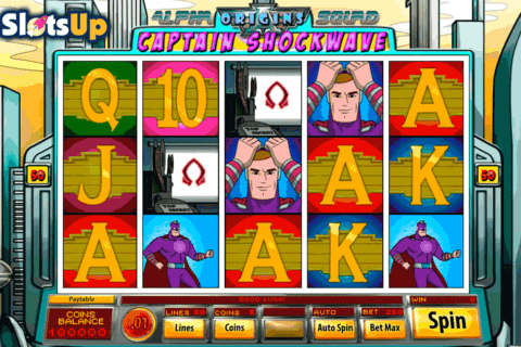 Slotsup free slots online spins tragamonedas gratis Alpha Squad-890337