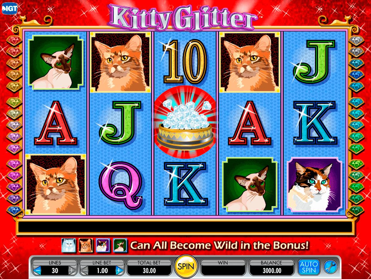 Tragamonedas kitty glitter jugar gratis con maquinas USA-680715