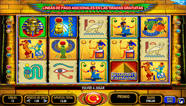 Tragamonedas pharaohs los mejores casino on line de Almada-773199