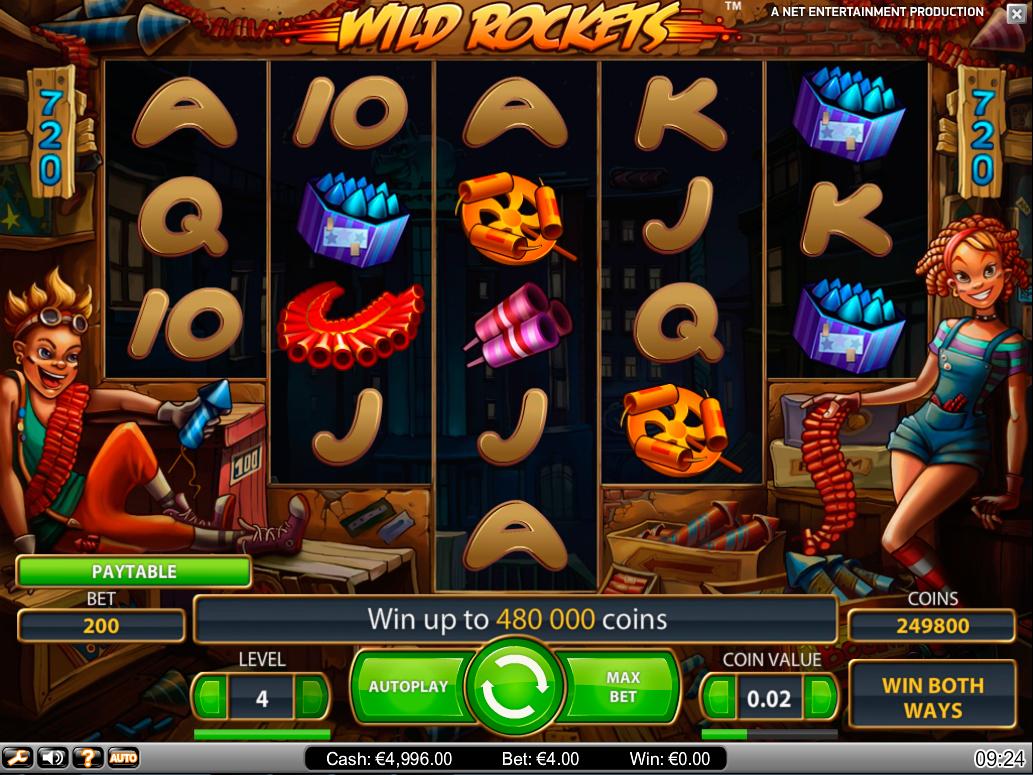 Tragamonedas Wild Símbolo jugar video slot-718397
