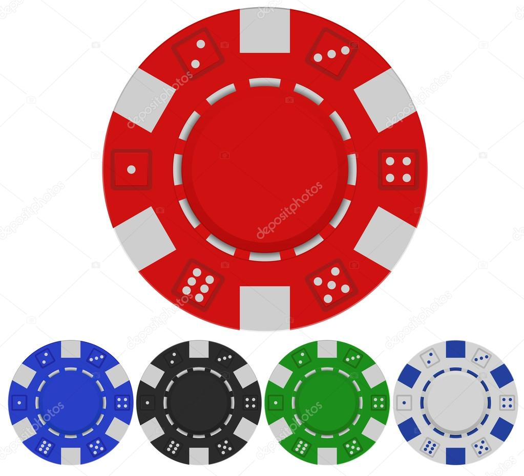 Valor de fichas de casino por color cuenta atrás-221363