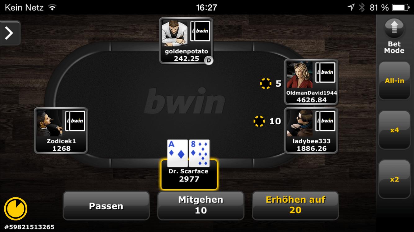Vídeo Póker Portugal bwin app-932067