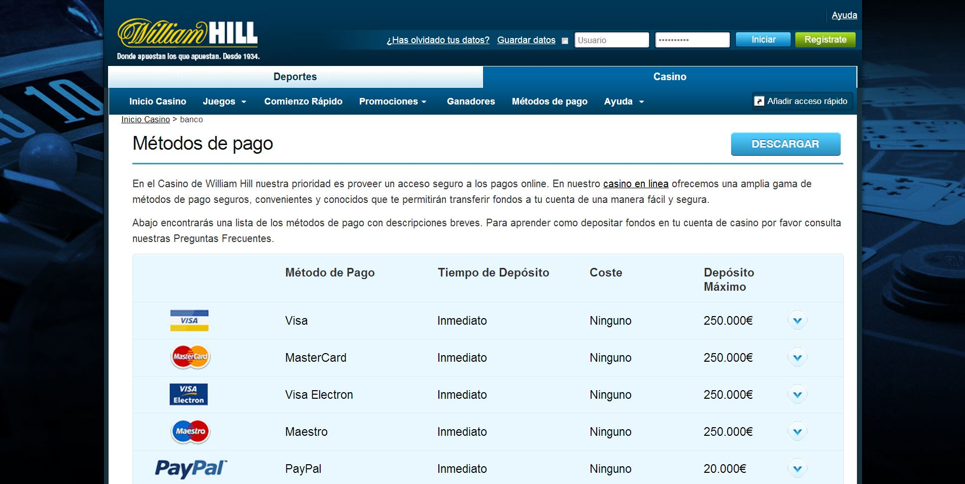 William hill 10 gratis los mejores casino online España-538846