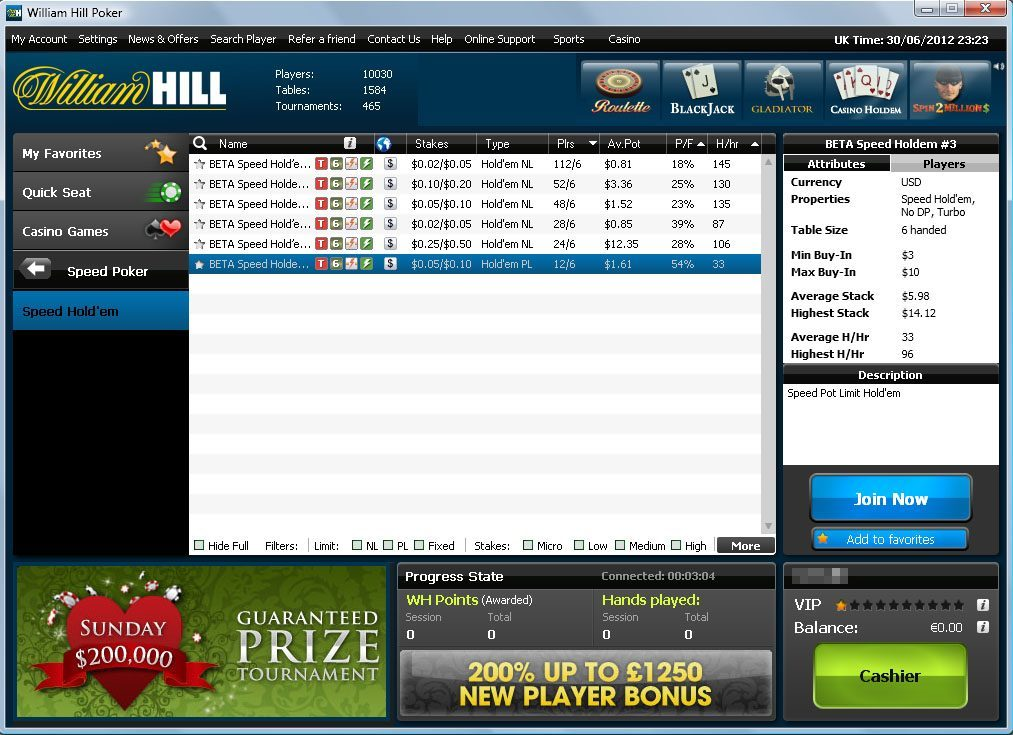 William hill 150 estrellas poker tour-937496