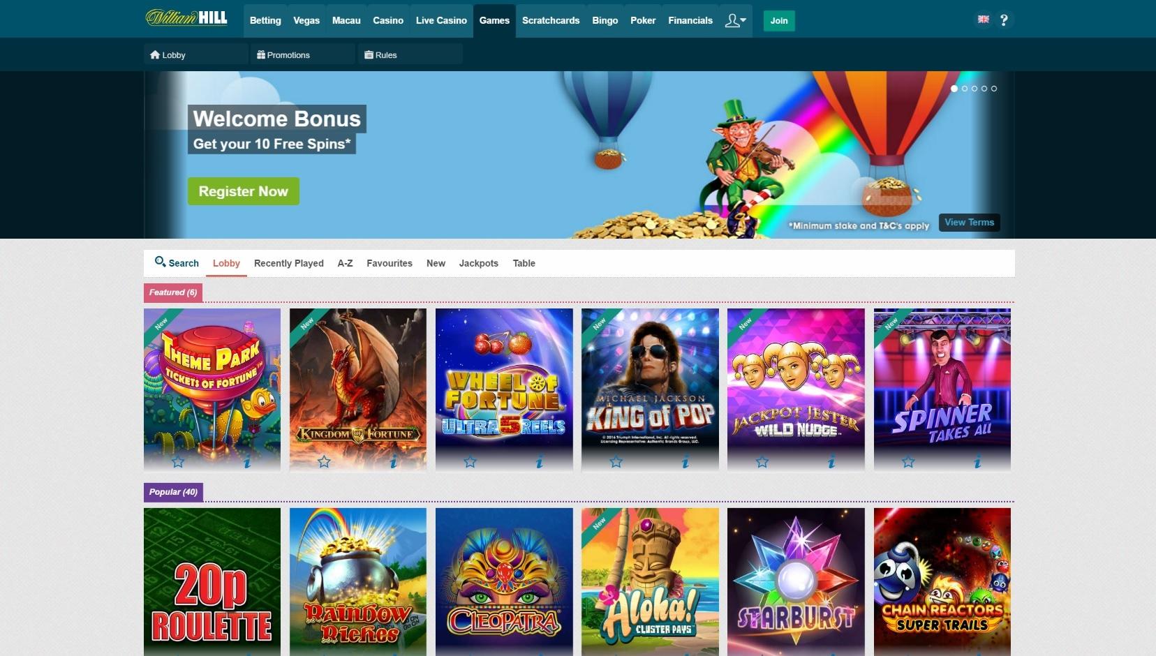 William hill casino online Ash Gaming-812842